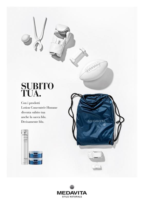 liberate le aragoste promozione medavita cosmetici prodotti capelli pubblicità poster