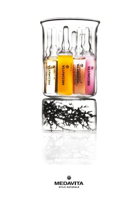 liberate le aragoste bologna pubblicità medavita logo packaging prodotti capelli hair