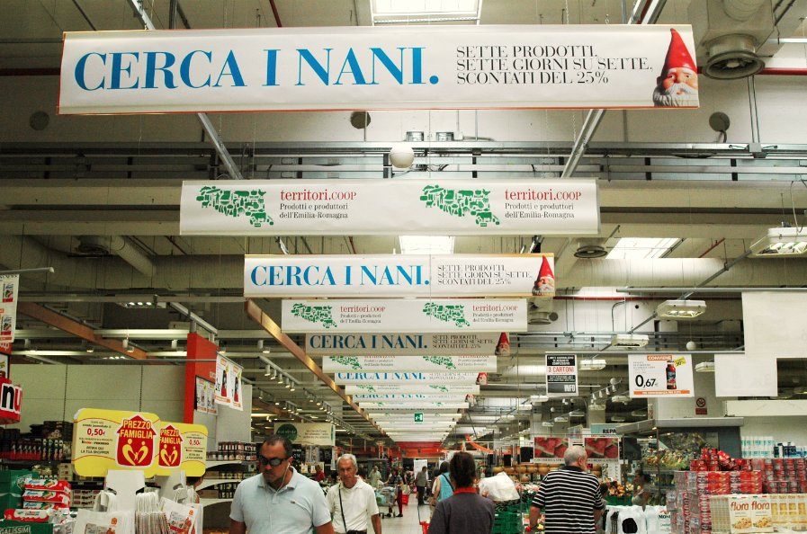 liberate le aragoste coop adriatica pubblicità GDO supermercati promozione nano 3