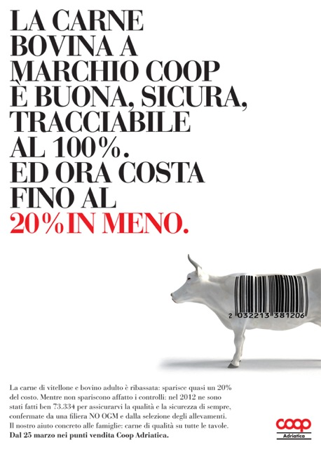liberate le aragoste coop advertising pubblicità food 2