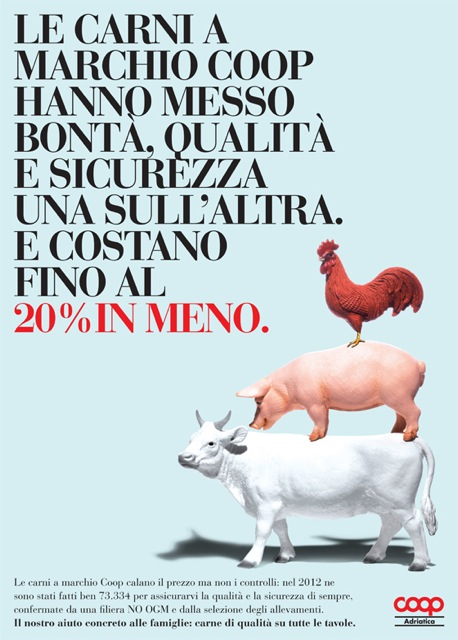 liberate le aragoste coop advertising pubblicità food