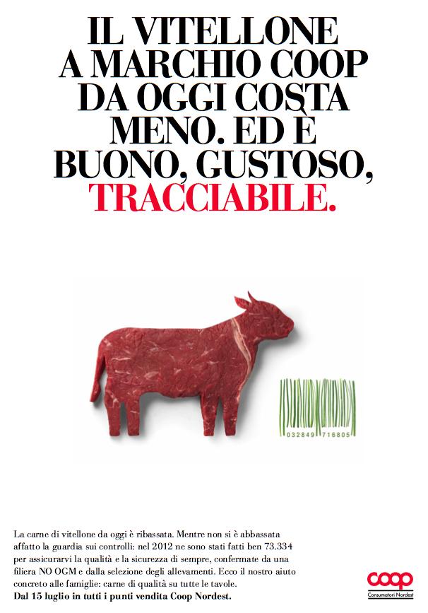 liberate le aragoste pubblicità coop food design alimentare carne 2