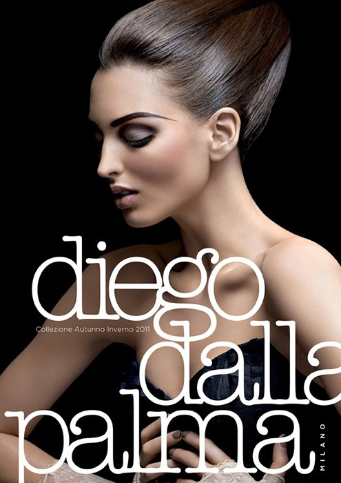 Diego Dalla Palma | Autumn Winter make up advertising campaign