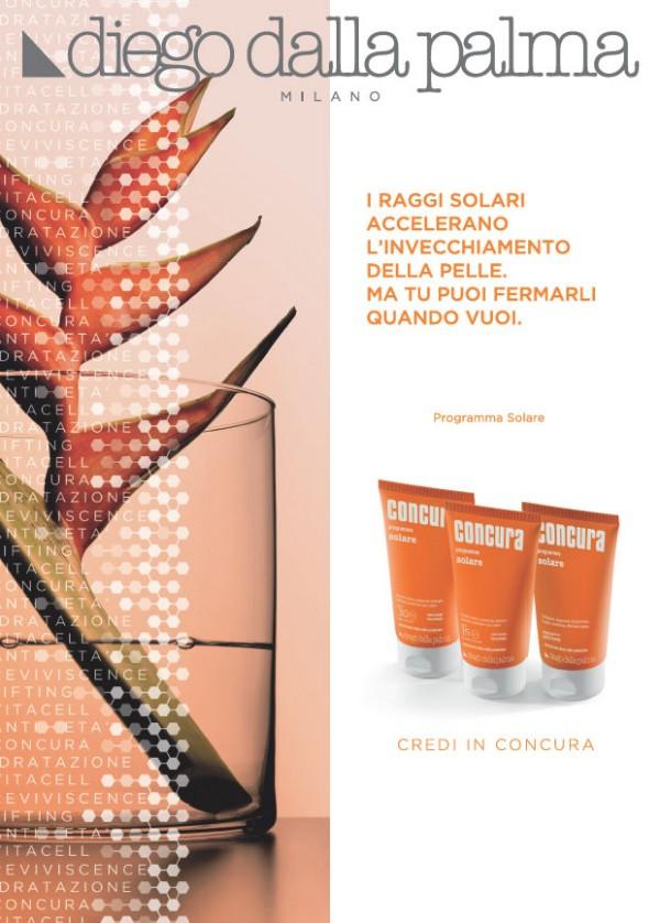 Concura | Campagna per linea skincare