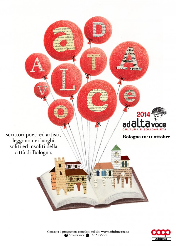 Ad Alta Voce – Urban Reading Event Advertising Campaign